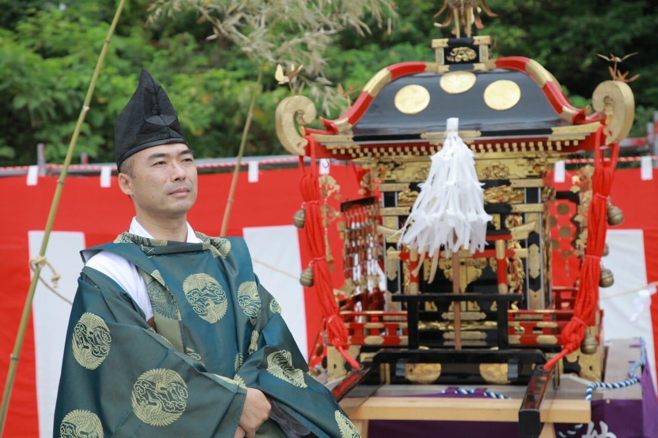 折戸神社祭典(蛇浦)